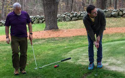 Spring Golfing in November
