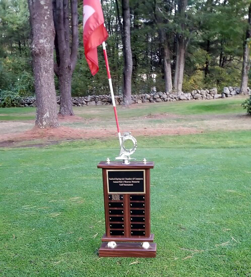 golf tournament trophy