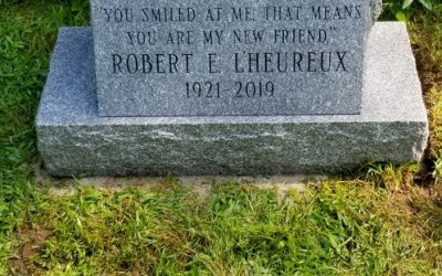 Memorial Stone Set at PineHollow Little Par 3