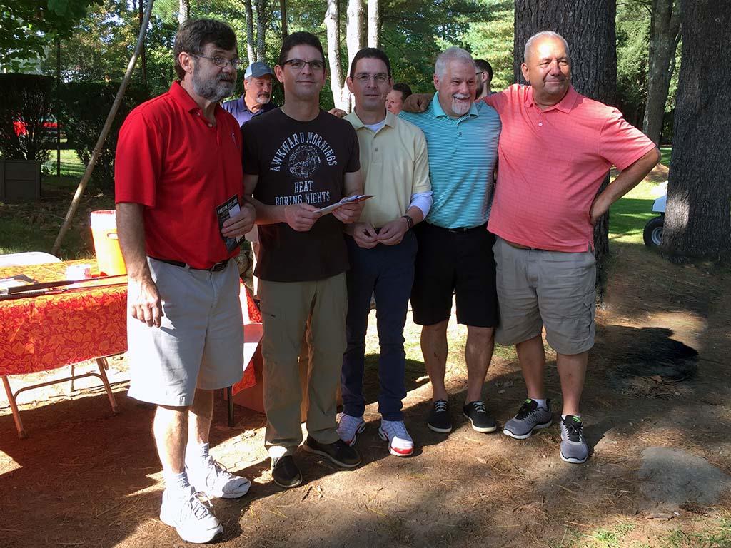 Rick Stanley with Team Edward Jones - Champions